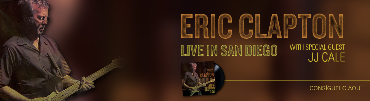 "Eric Clapton ""Live in San Diego"""